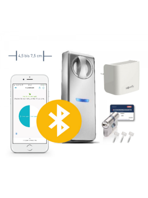 Neuheit: Somfy Smartes Türschloss ABUS Connect